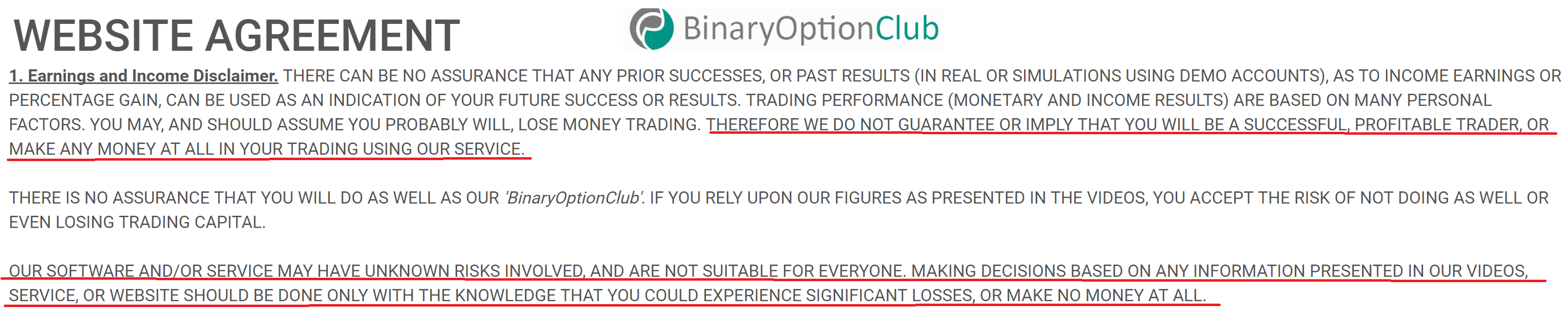 cash code binary options review